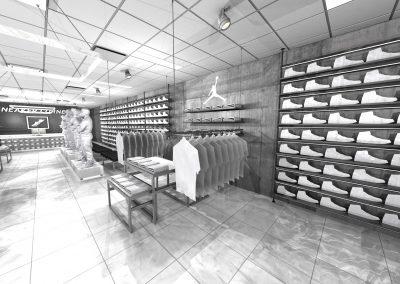Sneaker Corner 2-Jordan Wall