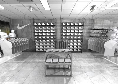 Sneaker Corner 2-Nike Tables