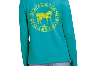 Horse Shirt Design 20b Back web